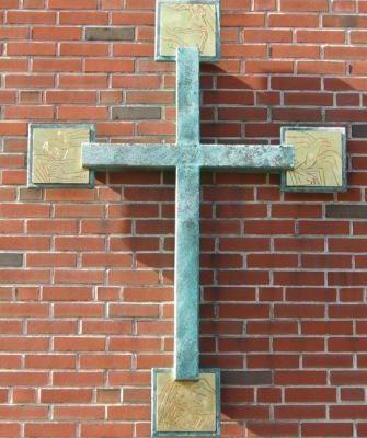Columbarium Cross - Judy Hunter