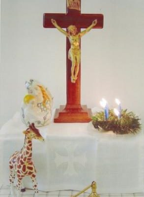 Contemporary Worship Childrens Story Crucifix - Rebecca Enney