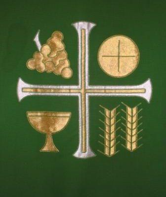 Nave Altar Paraments - Green - Michael Torkelson