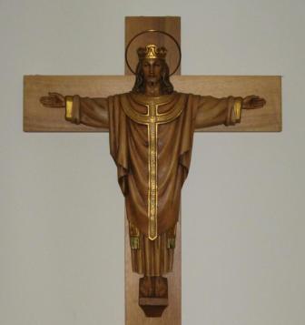 Office Crucifix - Judy Hunter