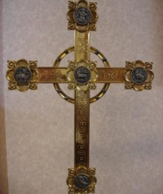 Old Nave Altar Cross - Michael Torkelson