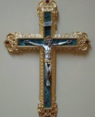 Ornate Crucifix - Nave Sacristy - Jeff Weaver