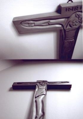 Room 227 Crucifix - Liz Fever