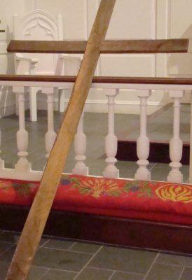 Wooden Cross Used on Maundy Thursday - Jeff Weaver