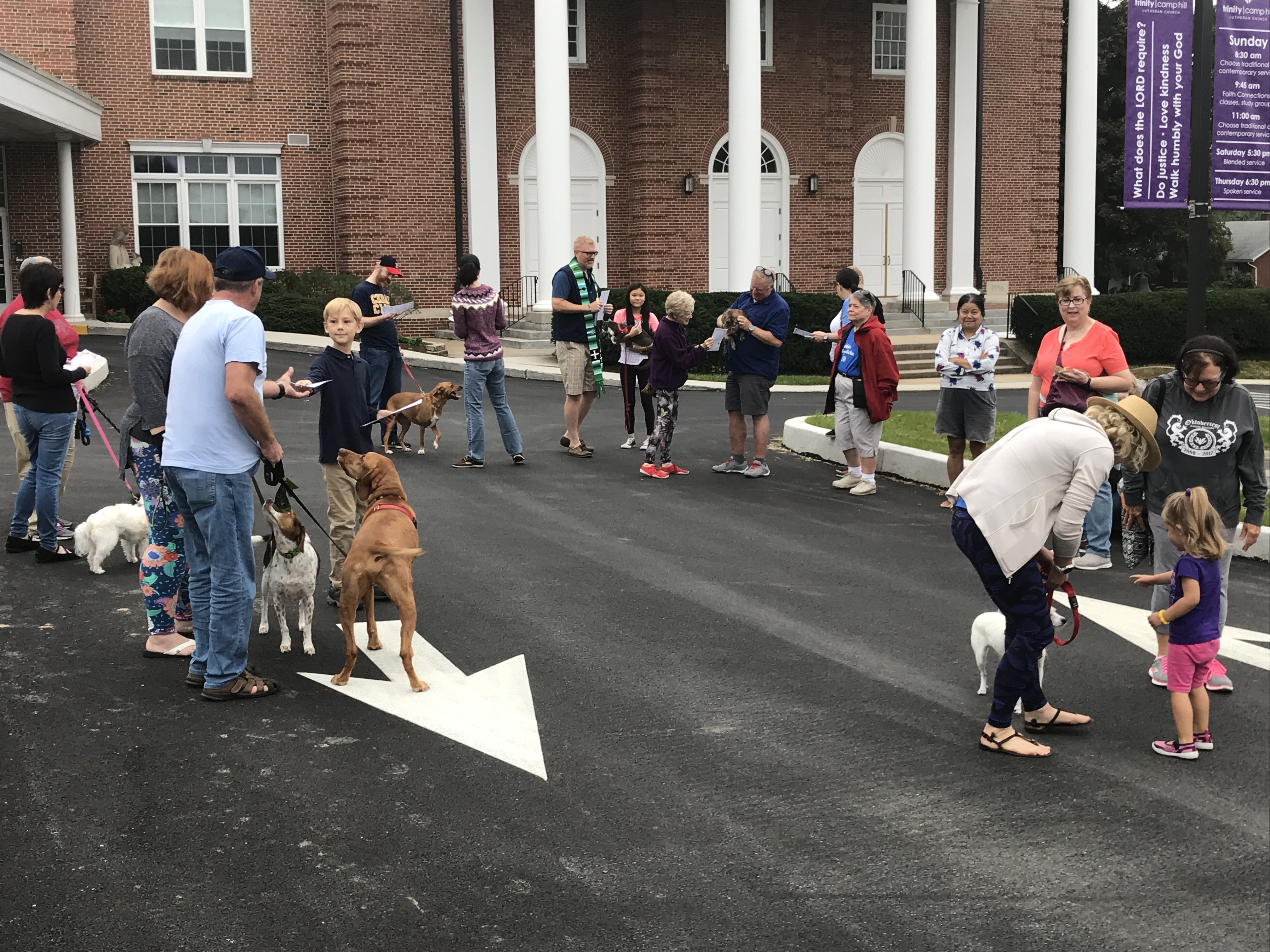 Blessing of the Animals - 2018   Trinity Camp Hill
