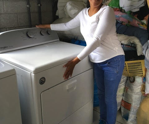 new dryer at hogar